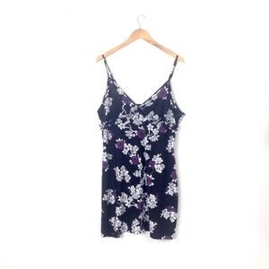 gilligan o'malley chemise nightgown floral XXL NG1